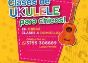 Clases de ukulele para niños