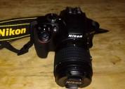 camara nikon d3400 kit 18-55 reflex+memoria 16 gb+bolso