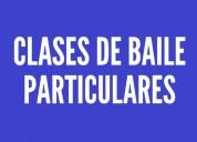 Profesor particular baile rock cumbia cuarteto bachata salsa reggaeton merengue zumba vals jazz