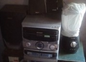 Vendo amplificador y equipo de musica