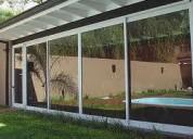 Carpintería de aluminio-aberturas-mosquiteros-muebles