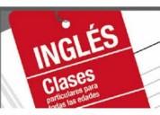 Profesor  nativo – clases de ingles – zona norte