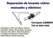 Reparación de levanta-vidrios zona francisco alvarez 15-36756155