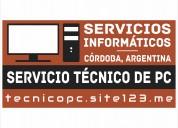 Técnico de pc a domicilio. reparación y servicio de computadoras