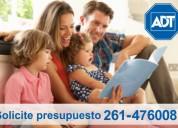 Alarma monitoreada adt 0261-4760081 / 0800-345-1554 - 0$ instalación !!!