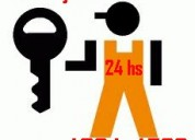 Cerrajero en temperley urgencias 4264-4583 trabajos dia y noche 24 hs