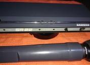 Microfono inalambrico : marca samson sr-22 con capsula shure