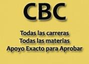 Clases particulares ubaxxi cbc profesores