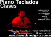 Clases, piano,teclados, órgano