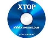 Bluray, dvds y cd en xtopsite