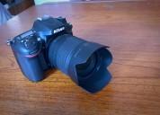 Nikon d7100 kit 18-105 como nueva reflex 24mp full hd