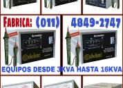 Elevadores, estabilizadores de tensión fabrica y ventas