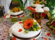 Menu con todo incluido para bodas y 15 años 15-3470-2072