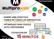 DiseÑo web para personas, negocios y empresas