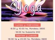 Yoga hatha + desbloqueo de chakras, rosario zona norte