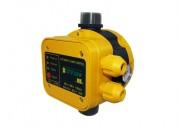 Controlador electrónico de presión para bombas de agua