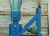 Peletizadora 230mm 22 hp diesel para alfalfas y pasturas