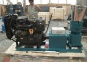 Peletizadora 200mm 15 hp diesel para alfalfas y pasturas