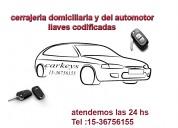 Cerrajero automotor en merlo ## 15-3675-6155 ## (( 24 hs))