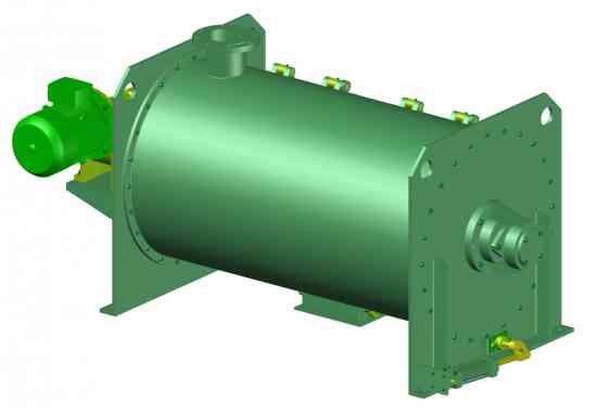 Mezclador Horizontal Mixer 750 lt, planos completos de fabricación.