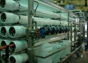 Osmosis inversa- generadores de ozono-tratamiento de agua.