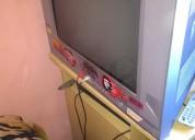 Televiso philco 21 pulgadas + meza de tv
