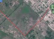 Vendo terreno 25 x 100 mts en gral donovan puerto tirol