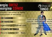 Clases de tango en maipú mendoza