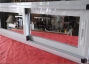 Ventanas aluminio linea modena, vidrio entero incluido