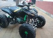 Vendo cuatri sumo 250 cc con motor nuevo!!! 4 hs de uso!!