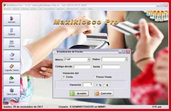 Nuevo programa ))) Maxikiosco PRO ((( garantía en software - GDS Sistemas