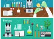 Clases a domicilio . química y biologia. secundarios y cbc
