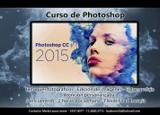 Curso de photoshop disponibilidad  horaria