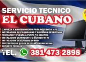 servicio técnico de computadoras y redes