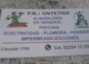Albañileria en gral, contactarse.