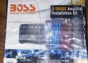 Vendo excelente potencia , subwoofer y cables