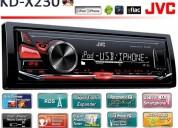 Jvc nuevos en caja $1450 usb auxiliar mp3