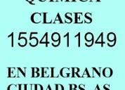 Clases particulares química nuñez belgrano i5549ii949 cbc uba xxi secundarios universitarios