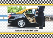 Servicio de taxi larga distancia