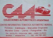 * automobilia c.a.a. * venta de literatura automotriz *