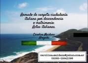 Asesoramiento ciudadanía italiana