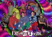 Show dreamteens de animación con el mejor repertorio musical para adolescentes.