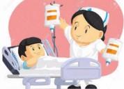Cuido a personas enfermas internadas