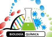 Clases particulares biología y química.