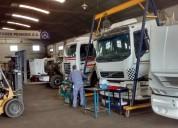 Taller mecanico para camiones m.benz scania volvo ford cummins iveco perkins volkswagen caterpillar