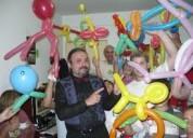 Contratacion de payasos para fiestas infantiles en buenos aires animaciones  mago