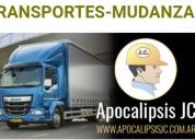 Transportes mudanzas-fletes 24hs. whatsapp 1166760699