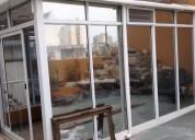 Espejado de vidrios y ventanas
