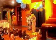 Mago charly payaso batatita ventriloquia infantil animacion a domicilio zona villa pueyrredon