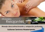 masajes descontracturantes y relajantes(domicilios)